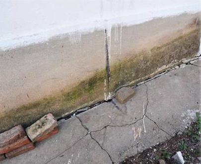 пучение бетона